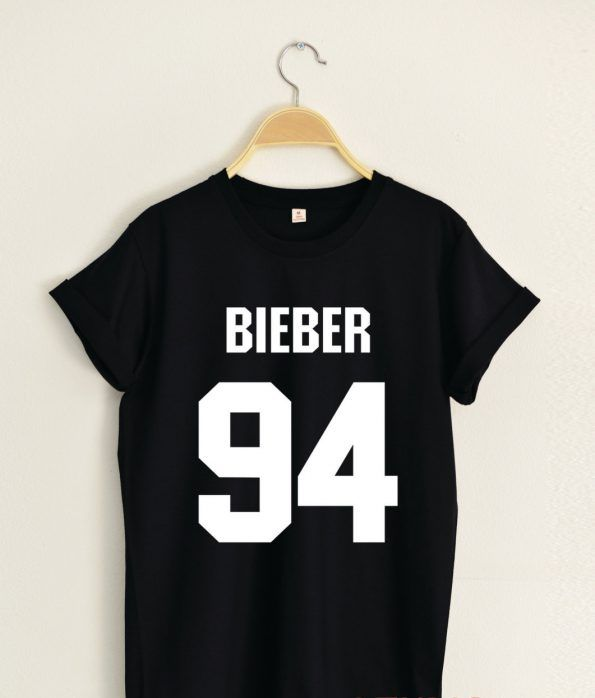 BIEBER 94 T shirt Adult Unisex Size S 3XL
