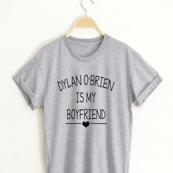 Dylan O'Brien T shirt Adult Unisex Size S-3XL for men and women