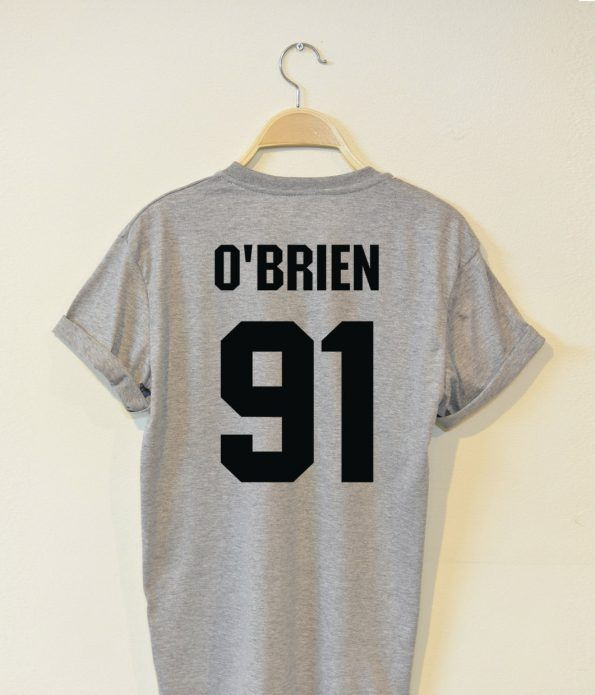 Dylan O'Brien 91 T shirt Adult Unisex Size S 3XL