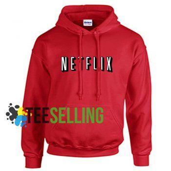 Netflix unisex adult Hoodies for men and women Size S-2XL