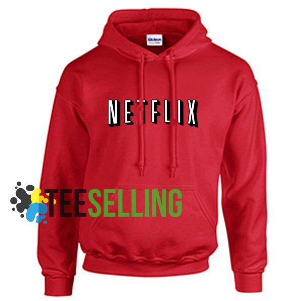 Netflix unisex adult Hoodies for men and women Size S 2XL