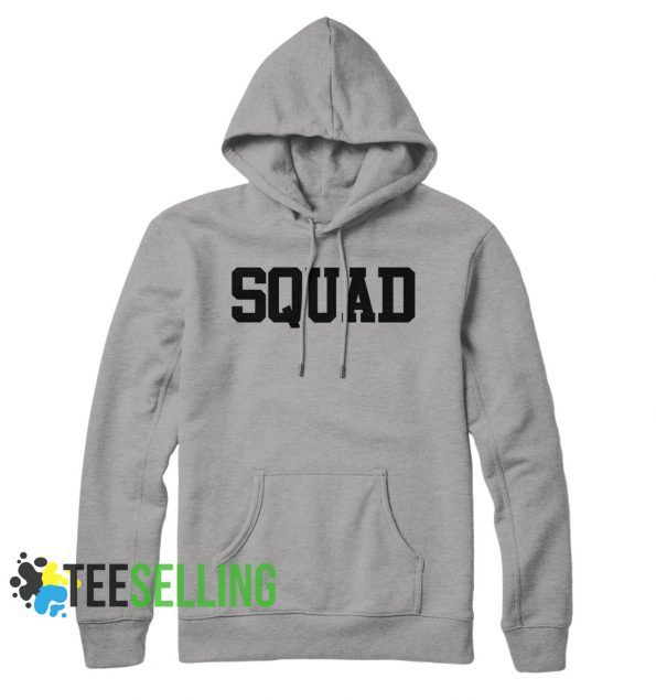 Squad Funny unisex adult Hoodies for men and women