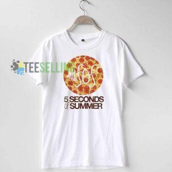 5 SOS Pizza T Shirt Adult Unisex