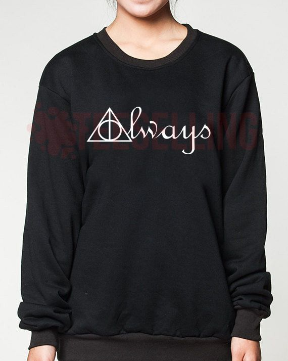 Always Deathly Hallows unisex adult sweatshirts men and women
