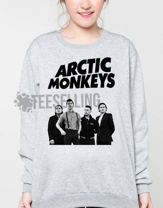 Arctic Monkeys unisex adult sweatshirts