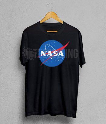 Nasa logo T Shirt Adult Unisex