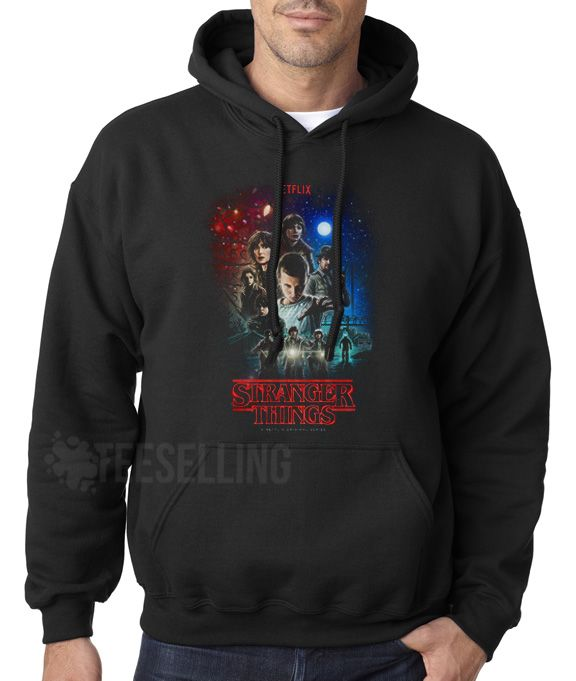 Stranger Things unisex adult Hoodies for men and women