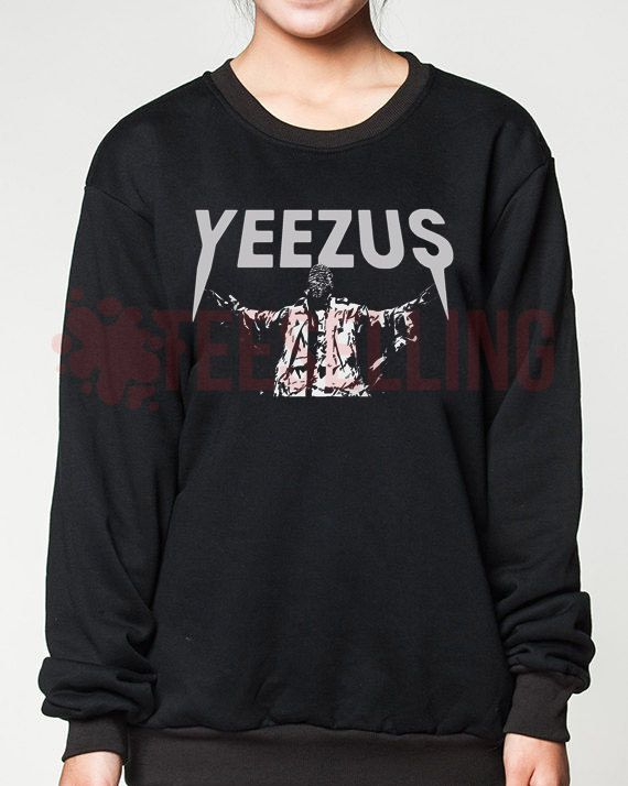 Yeezus kanye west unisex adult sweatshirts men and women