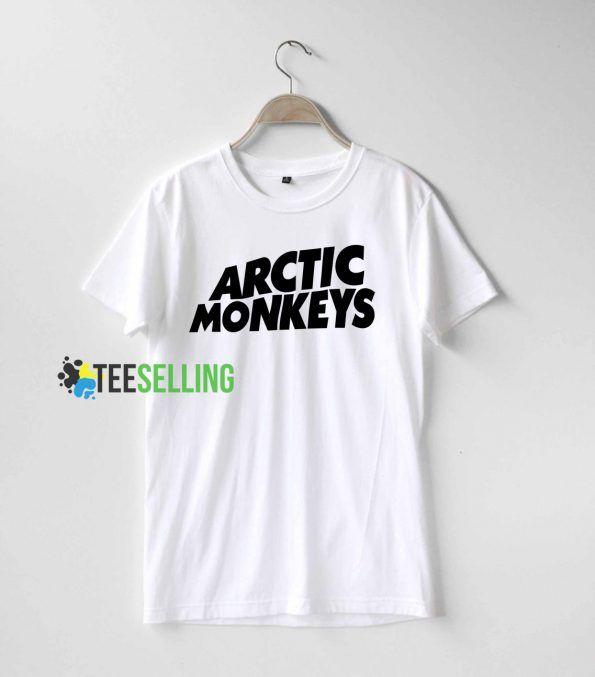 Arctic monkeys T shirt Adult Unisex For men and women Size S 3XL