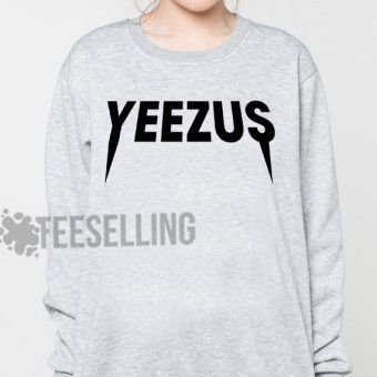 Yeezus logo Unisex adult sweatshirts