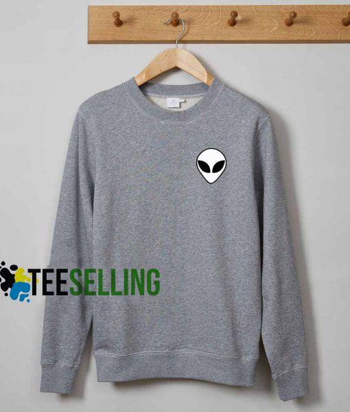 Alien sweatshirt adult sweatshirts men and women