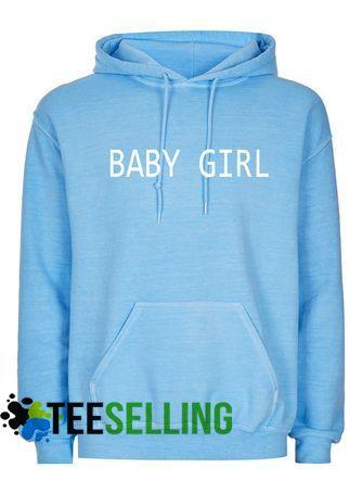 BABY GIRL Hoodie Adult Unisex