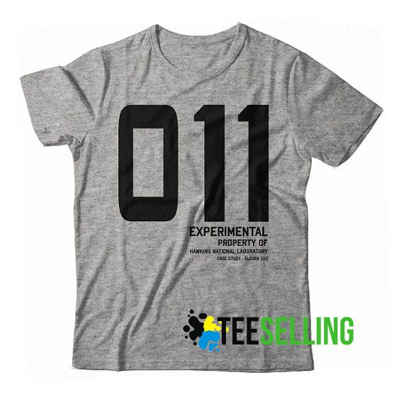 011 eleven Stranger Things T shirt Adult Unisex