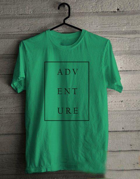 ADVENTURE T shirt Adult Unisex