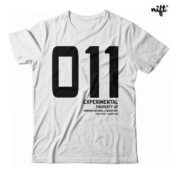 011 eleven Stranger Things T shirt Adult Unisex