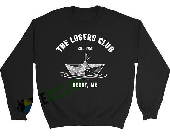 THE LOSERS CLUB DERRY ME Sweatshirts Unisex Adult