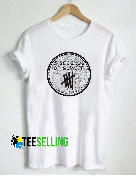 a91c85682478 5 Seconds of Summer T-shirt Unisex Adult Size S-3XL
