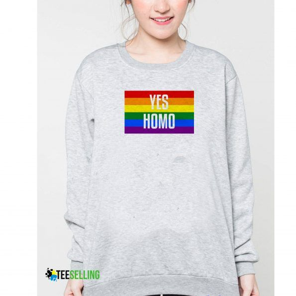 Yes Homo sweatshirt