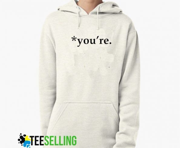 You're Grammar Nazi Syntax Hoodies