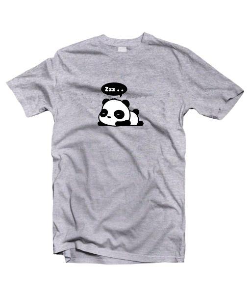 Zzz panda t shirt