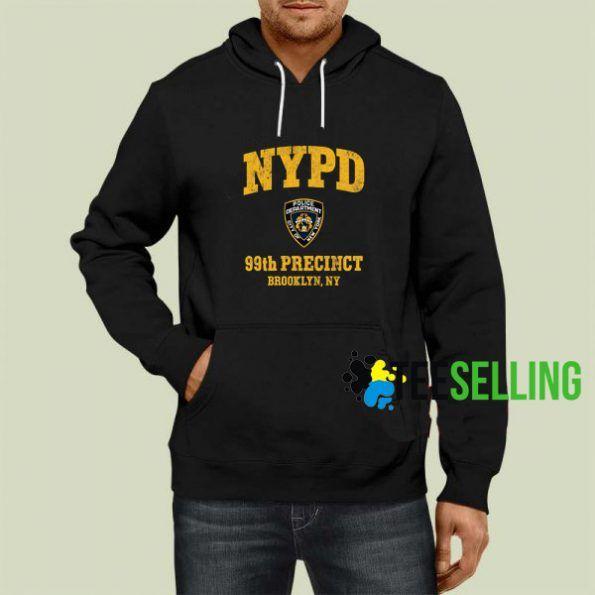 99th Precinct Brooklyn New York Hoodie Adult Unisex