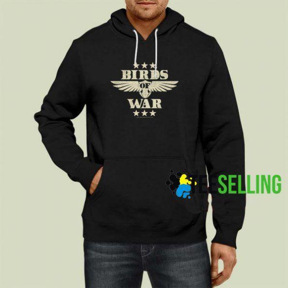 Bird Of War Hoodie Adult Unisex Size S 3XL