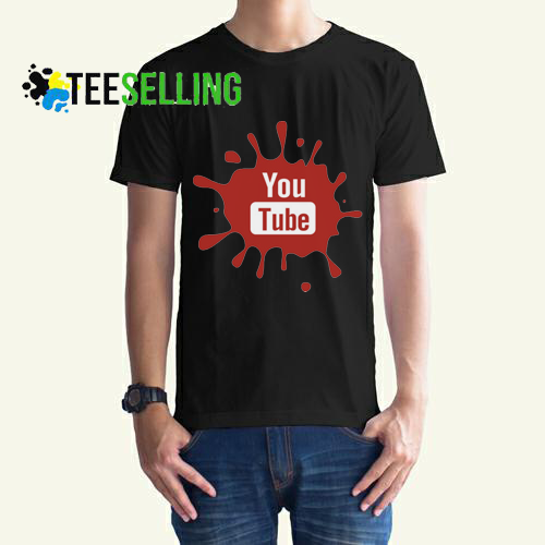 Youtube T shirt Adult Unisex Size S 3XL