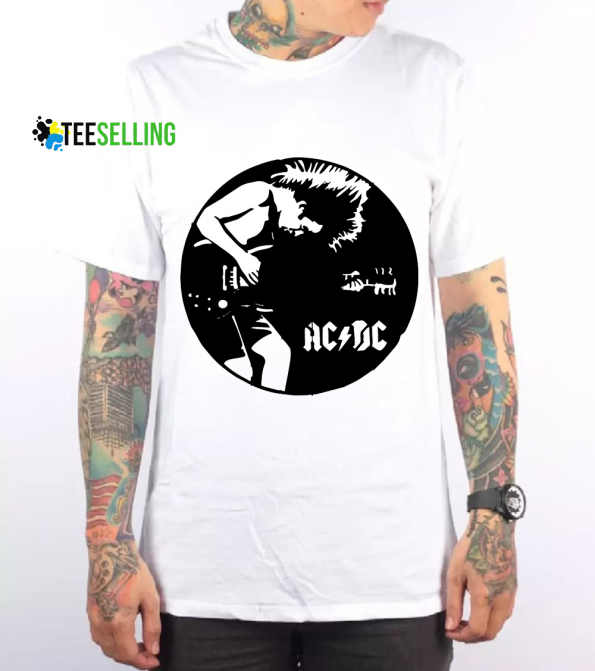 ACDC T shirt Adult Unisex Size S 3XL