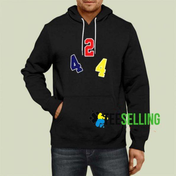 424 Logo Print Hoodie Unisex Size S 3XL