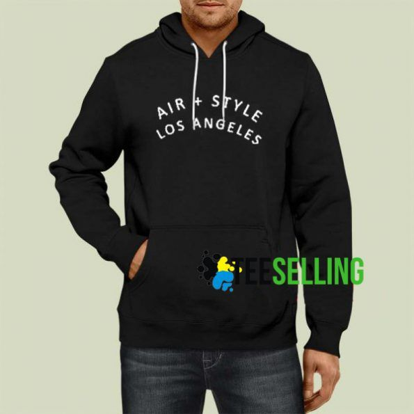 Air Style Los Angeles Unisex Hoodie Size S 3XL