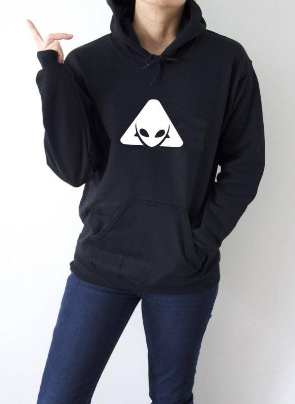 Alien Pocket Logo Sweatshirt Adult Unisex Size S 3XL